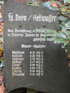 Heiligenborn bei Milchenbach im Sauerland