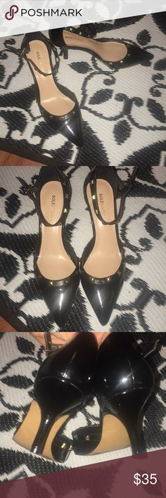 NWOT sole society going to clothes mentor today NWOT great for work and play Sole Society Shoes Heels