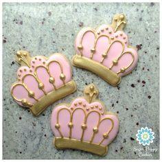 gold crown sugar cookies - Google Search