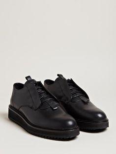 Damir Doma Men's Flautim Ripple Sole Leather Shoes.