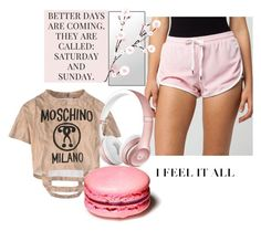 """""""Feshion"""" by flo-vers ❤ liked on Polyvore featuring Moschino, Full Tilt and Beats by Dr. Dre"""