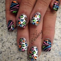 Nice nails | See more nail designs at http://www.nailsss.com/acrylic-nails-ideas/2/