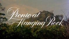 Picnic at Hanging Rock 1975 movie title