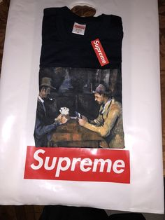 d94cb4bce Supreme Spring/Summer 2018 · Supreme SS18 Cards Tee Black Medium IN HAND  READY TO SHIP #ready #ship #