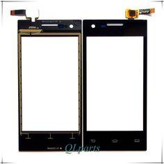 """4.0 """"écran tactile digitizer Pour Philips S309 téléphone portable avant en verre écran tactile Pour Xenium CTS309 mobile téléphone tactile panneau capteur"""