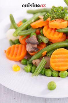 Cette poêlée printanière ail et persil est prête en 30 minutes. #recette#cuisine#poelee#legumes #ail #persil Parsley, Garlic