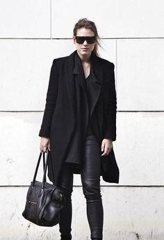 black on black on black..