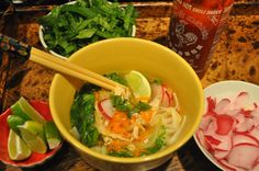 Spicy Asian Noodle Soup. Substitue rice viegar with lemons, or Apple cider vinegar. Also, substitute noodles with squash noodles