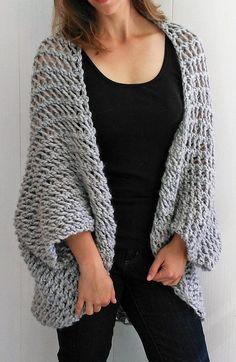 6561fbc065d20 Knitting Patterns Easy Sweater Easy Cardigan Knitting Patterns In The Loop  Knitting