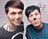 #3: Dan and Phil Reprint Signed 1114 Poster Photo RP Autographed #1 YouTube