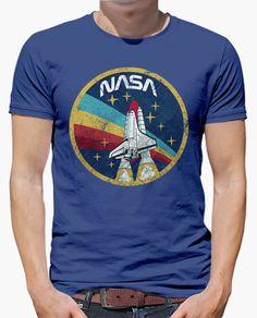 Camiseta NASA Vintage Colors V01