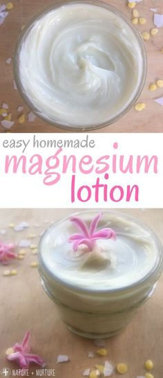 DIY magnesium lotion
