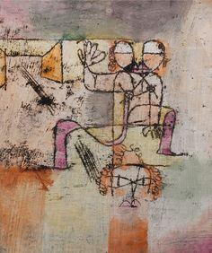 Paul Klee: Salome, 1920.