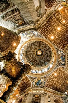 St Peters Basilica, Rome, Italy