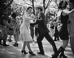 Jazz Dance - Jazz Age Lawn Party on Governors Island...engagement picture idea