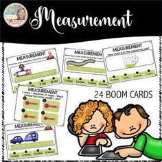 Boom Cards - Measurement