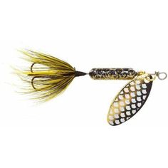 Yakima Bait Original Rooster Tail, Black