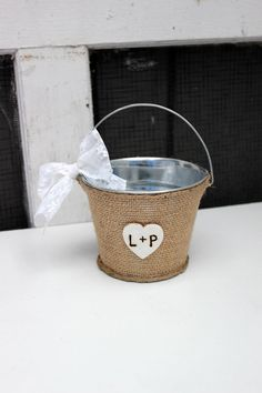Hey, I found this really awesome Etsy listing at http://www.etsy.com/listing/127224683/small-flower-girl-bucket-basket
