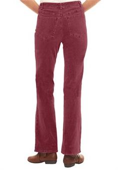Pants, jeans in boot-cut corduroy   Plus Size Jeans & Pants   Woman Within #WWFallContest
