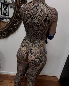 Full Body Tattoo, Body Tattoos, Back Tattoo, Sleeve Tattoos, Be Proud, Darkness, Tattoo Ideas, Journey, Board