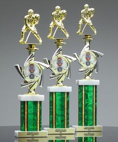 The Contempo Splash Vortex Trophy makes the perfect recognition award. Available in three sizes to award your place finishers. Pictured here with silver & gold columns an Hockey Trophies, Recognition Awards, Columns, Amp, Silver, Gold, Pictures, Photos, Grimm