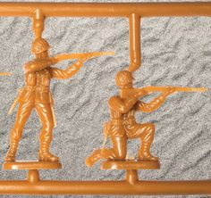 Classic plastic army men? Yep, they're injection molded.