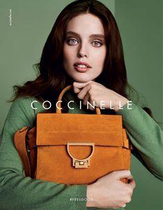 Coccinelle 2016 presenta la nuova campagna pubblicitaria per la borsa Arlettis autunno inverno, Moda borse 2016, Borse moda 2016, Borse a mano 2016