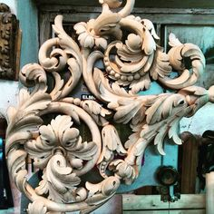 Wood Carving Designs, Wood Carving Art, Leather Tooling Patterns, Clay Design, Wooden Art, Woodworking Crafts, Wood Crafts, Art Decor, Sculptures