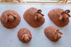 Clay Crafts, Sheep, Baby Shoes, Pottery, Sculpture, Christmas, Teacher, Heart, Photograph Album