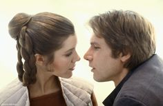 princess leia and han solo | STAR WARS AFICIONADO MAGAZINE: CLASSIC IMAGE: WHEN A MAN LOVES A WOMAN ...