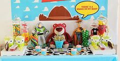 """....cutest. party. EVER!!!   """"You've Got a Friend in Me"""" Toy Story Party"""