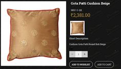 Vidhisinghania.com is excellent online store popular in creating magic with the traditional textile & modern trends. From here you can buy online silk cushion sets for home decor. Enhance the beauty of your home. Shop Now!