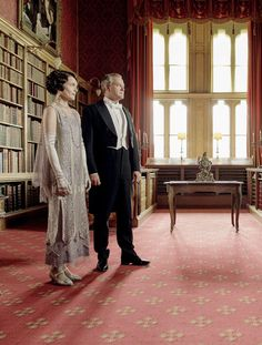 Downton Obsession | S6 E9 Christmas Special | Cora & Robert