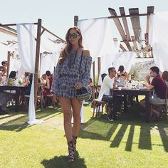 The perfect summer brunch outfit. Dani Song's style this Coachella was perfect! | www.lauracinnamon.co.uk