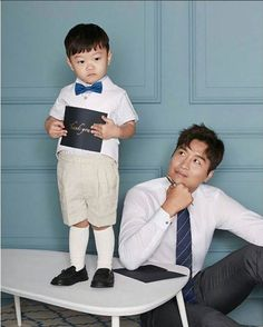 Superman Cast, Superman Kids, Lee Dong Gook, Song Triplets, Bloated Belly, Baby Fever, Kdrama, It Cast, Songs