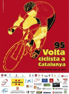 2015 #VoltaaCatalunya Poster: Live Video, Route, Teams, Results, Photos, TV