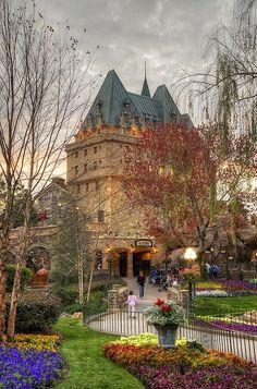 Empress Hotel and grounds, Victoria, BC, Canada