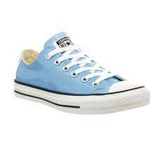 Converse Converse All Star Low Pastel Blue Patent Exclusive - Hers trainers