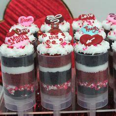 Valentines Day Push Pops