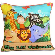 Lil friends swayam cushion cover for kids