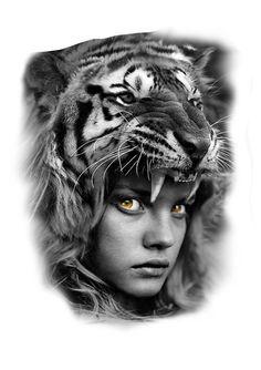 I'm going to be happy happy forever forever ya love ya ya forever forever love ya ya love ya I love ya ya love Wolf Tattoos, Animal Tattoos, Black And Grey Tattoos, Body Art Tattoos, Girl Tattoos, Sleeve Tattoos, Tattoos For Women, Headdress Tattoo, Medusa Tattoo