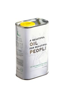 A Beautiful OIL for Beautiful PEOPLE 250mL and 500mL tin can italian extra virgin olive oil by #cufrol