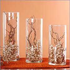 winter wedding table pieces champagne color - Google Search