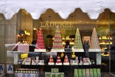 Macarons at Laduree