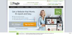 Need Web Hosting? $2.25/mo* Reliable Web Hosting Available Right now at ipage.com!