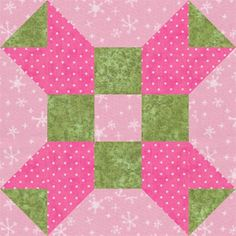 """Fool's Square, an easy 5"""" quilt block that's perfect for baby quilts"""