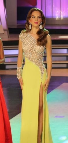 Miss Tierra Venezuela 2014 Evening Gown: HIT or MISS | http://thepageantplanet.com/miss-tierra-venezuela-2014-evening-gown/