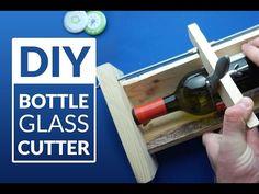 BOTTLE CUTTER machine - simplest DIY (adjustable size) - YouTube