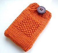 Free Knitting Pattern - Phone, Tablet & Laptop Covers: Gadget Cosy