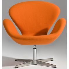 Jacobsen Style Swan Lounge Chair